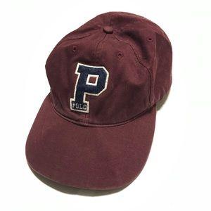 Vintage Polo Ralph Lauren Big P Hat